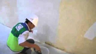 [Video] Các bước thi công bả tường