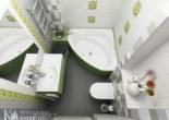 Tham khảo 11 mẫu nhà tắm siêu nhỏ mà vẫn đẹp