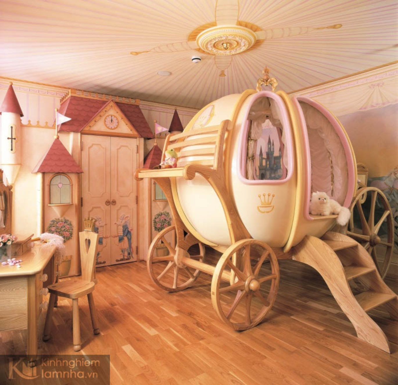 Các mẫu thiết kế phòng ngủ bé nào cũng mê
