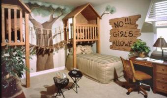 Bố trí phòng ngủ của bé sao cho hợp phong thuỷ