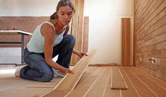 Các bước thi công sàn gỗ công nghiệp và những điều cần lưu ý