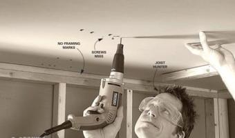 Các lỗi thường gặp và cách khắc phục khi thi công thạch cao