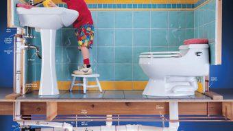 Cách lắp đặt hệ thống nước sinh hoạt trong nhà