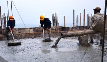 Cách xử lý trường hợp trời mưa to trong khi đổ bê tông