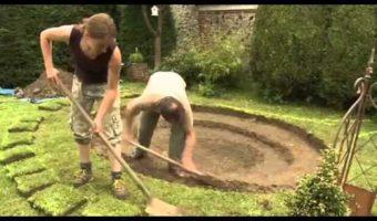 Hướng dẫn làm bể cá cảnh trong vườn nhà