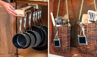 21 ý tưởng thiết kế nội thất tiết kiệm diện tích cho nhà bếp nhỏ (P1)