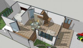 Bước 2: Thủ tục pháp lý và thiết kế nhà