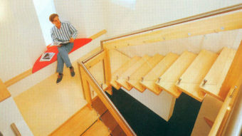 Chiếu nghỉ và chiếu tới cầu thang là gì?