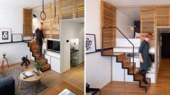 Những mẫu thiết kế cầu thang cho nhà chật