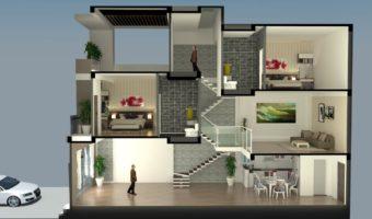 Ưu nhược điểm của nhà kiến trúc lệch tầng
