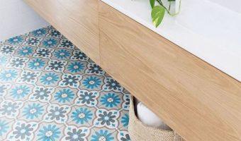 8 mẫu gạch trang trí phá cách cho nhà tắm