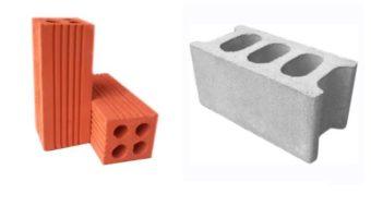 Phân biệt gạch nung truyền thống và gạch block