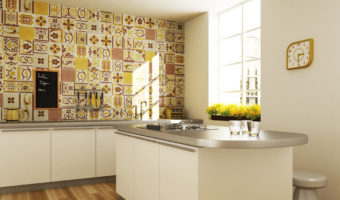 Chiêm ngưỡng những căn bếp được trang trí bằng gạch bông tuyệt đẹp