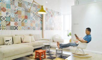 Gạch bông – Thoáng nét hoài cổ trong thời hiện đại