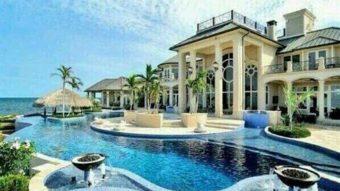 Biệt thự đẹp với đa dạng kiểu dáng hồ bơi phù hợp