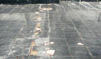Nguyên nhân và cách khắc phục nền gạch bị phồng rộp