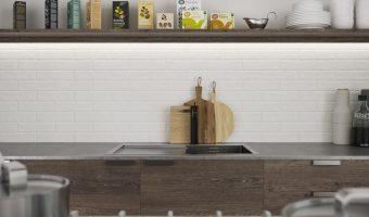 Những nguyên tắc lựa chọn gạch Việt Nhật ốp tường phòng bếp