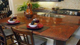 Đá granite đỏ – điểm nhấn ấn tượng cho căn nhà của bạn