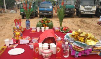 Lý giải phong tục cúng động thổ của người Việt