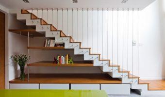 Thiết kế cầu thang cho nhà hẹp vừa đẹp vừa tiết kiệm diện tích