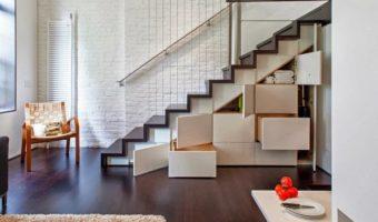 Thiết kế cầu thang nhỏ gọn cho ngôi nhà diện tích nhỏ