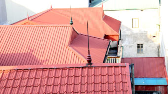 Các phương pháp chống nóng cho mái nhà