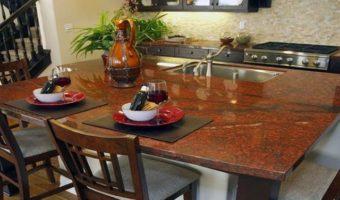 Đá granite đỏ phù hợp cho không gian nào trong gia đình bạn?