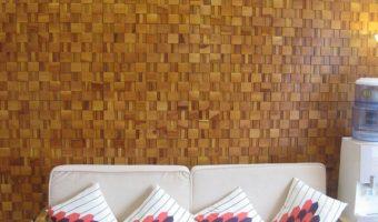 Gạch mosaic gỗ – Vẻ đẹp vượt thời gian của mọi công trình