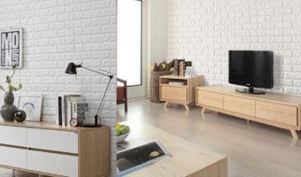 Gạch thẻ ốp tường màu trắng – sáng và sang trọng tuyệt đối