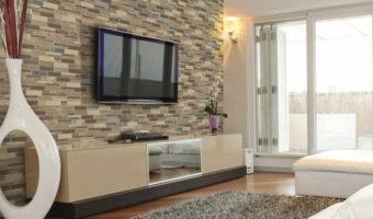 Gạch trang trí phòng khách – phong cách cho từng căn nhà