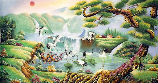 tranh-da-tu-nhien-vua-la-net-trang-tri-vua-mang-net-phong-thuy