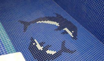 Gạch mosaic hồ bơi – Mang đẳng cấp 5 sao cho ngôi nhà bạn