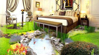 Cơn sốt không gian nội thất với gạch 3d trang trí