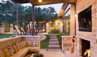 Gạch trang trí đẹp trong thiết kế tạo không gian cho ngôi nhà