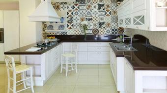 Nhà đẹp hơn với gạch gốm trang trí nhiều màu sắc