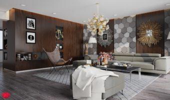 Gạch mosaic lục giác nét đẹp hoàn hảo đến từ hình khối