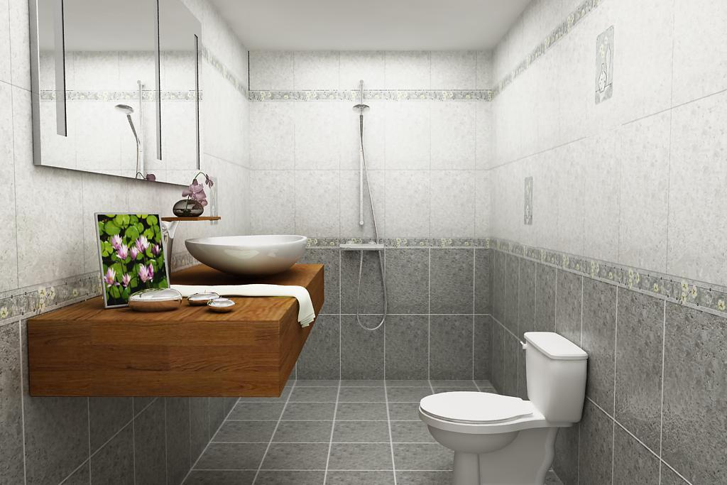 gạch trang trí phòng tắm
