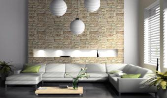 Gạch trang trí tường thổi hồn cho những bức tường phẳng lặng