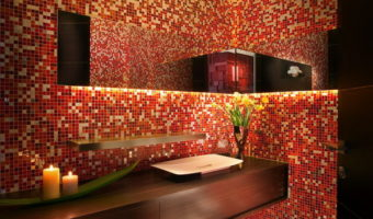 Nghệ thuật trang trí nội, ngoại thất với gạch mosaic
