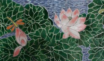 Những mẫu gạch mosaic Bát Tràng bằng gốm đẹp mắt