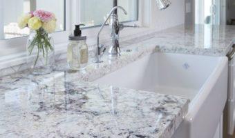 Kích thước đá granite phù hợp với phòng ăn