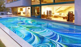 Gạch bể bơi thái xu hướng trang trí hồ bơi HOT nhất hiện nay
