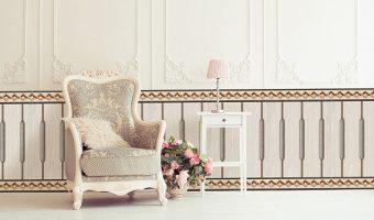 Cách chọn gạch trang trí ốp tường giúp ăn gian diện tích phòng khách