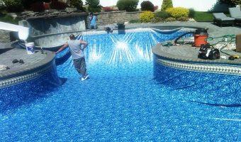 Keo dán gạch dưới nước chuyên dụng cho hồ bơi