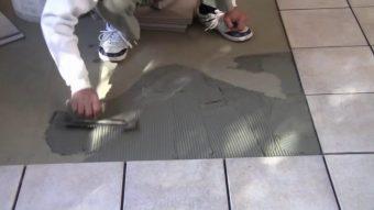 Phương pháp thi công keo dán đá granite (đá hoa cương)