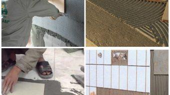 Phương pháp thi công keo dán gạch