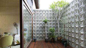 Tạo sự thoáng mát và độc đáo cho ngôi nhà bằng gạch bông gió