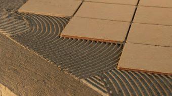 Ứng dụng của keo dán gạch đá Mapei