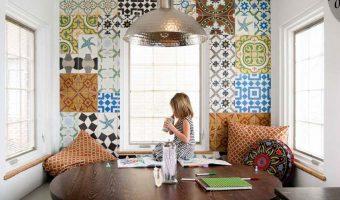 5 thiết kế tuyệt vời dành cho nhà bếp bằng gạch bông