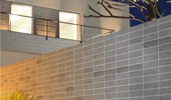 Cách sử dụng gạch thẻ ốp tường trang trí không gian ngoại thất